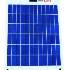 20W Semi Flexible SOLAR PANEL