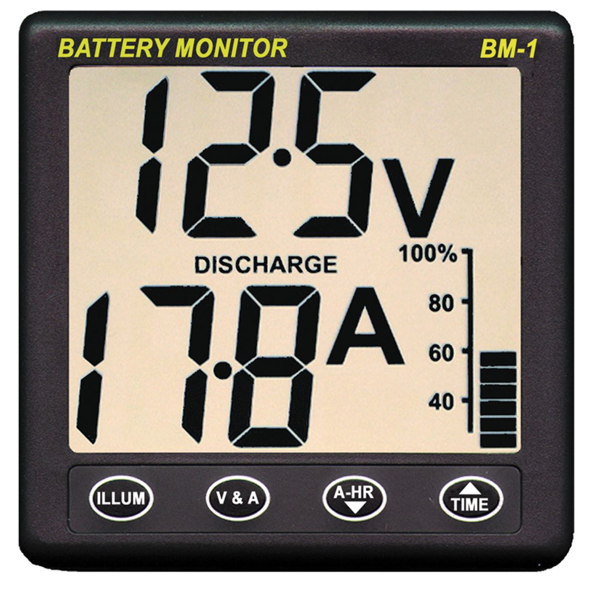12v Rv Battery Monitor : Clipper bm battery monitor nasa marine instruments