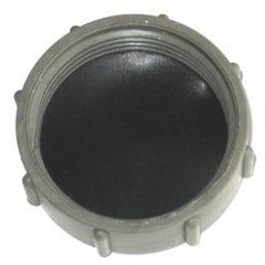 Log blanking cap