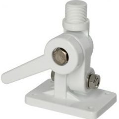 Four way solid nylon ratchet mount