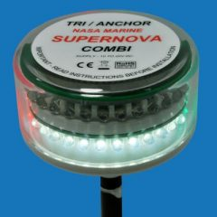Supernova Combi Tri and Anchor L.E.D mastlight