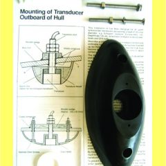 Through hull transducer mount kit