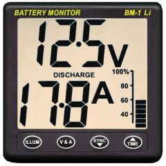 Clipper BM-1 Lithium (LiFePO4) Battery Monitor