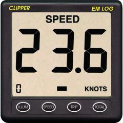 Clipper Electromagnetic Speed Log Display
